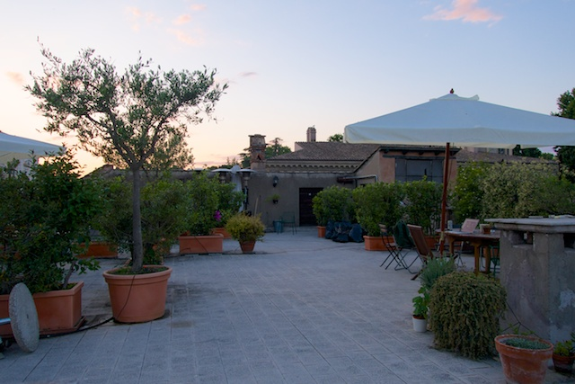 Rome, day 22. Roof Garden As Stage.