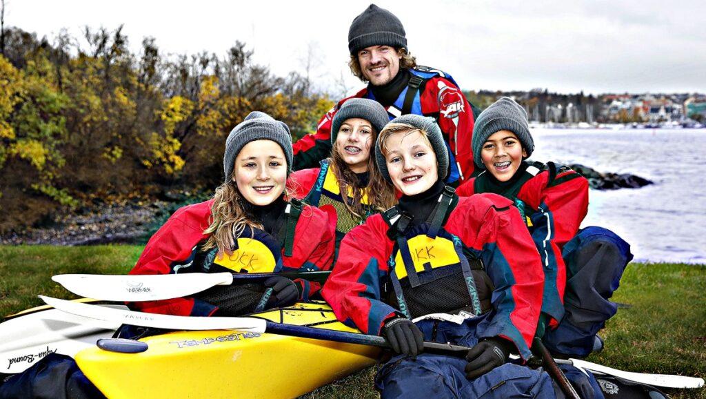 Oppdrag Nansen team kayak